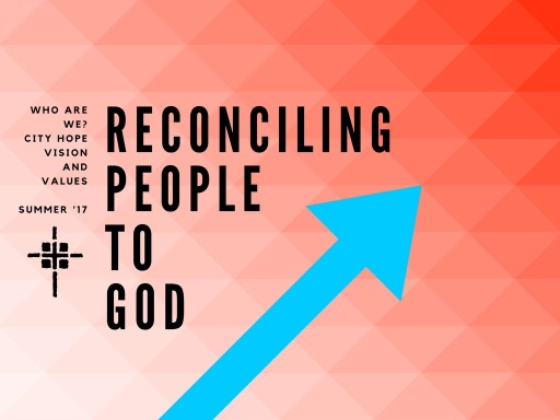 Reconciling People to God