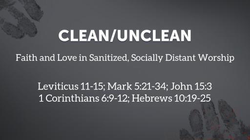 Clean/Unclean