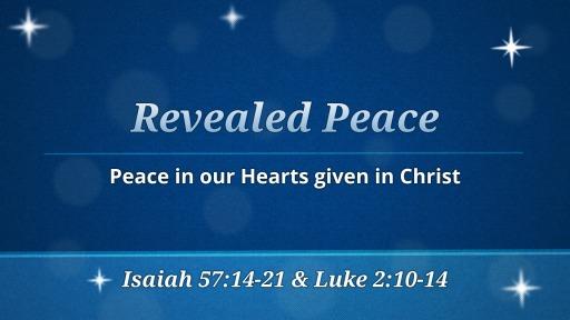 Dec 23 - Revealed Peace