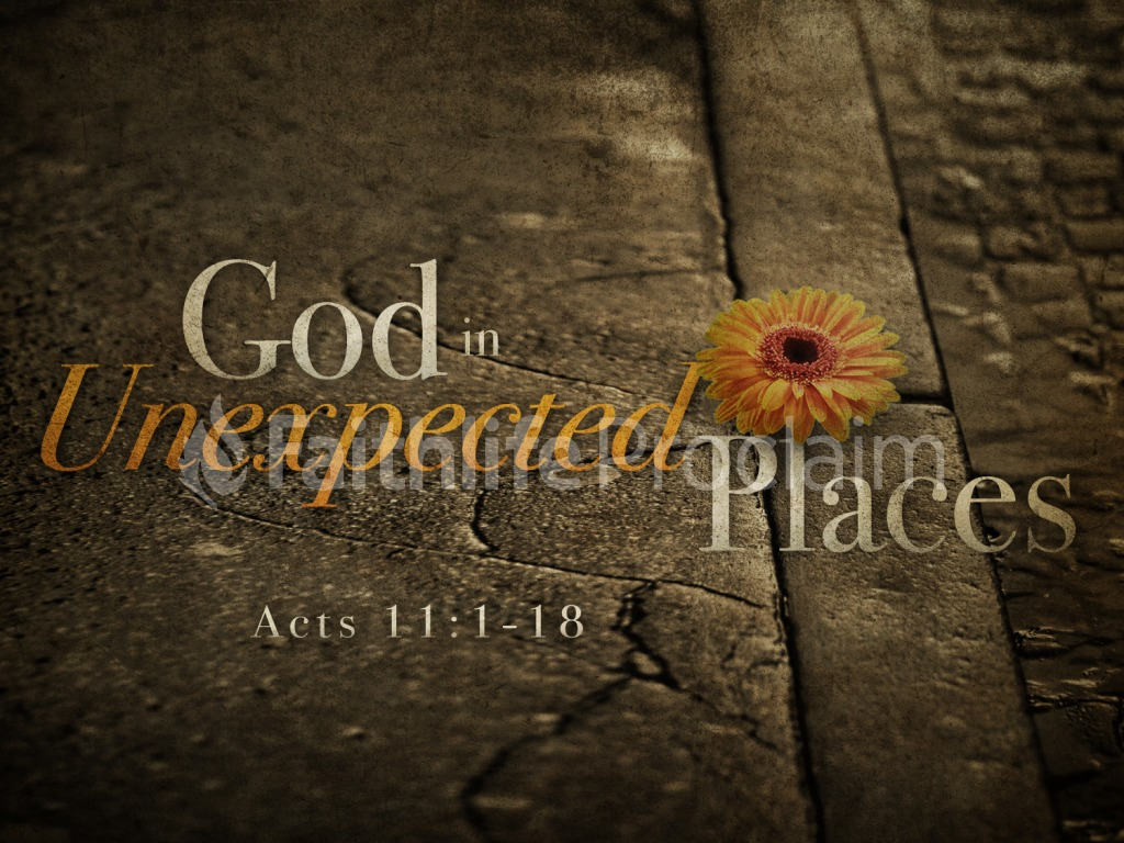 finding god in an unexpected place