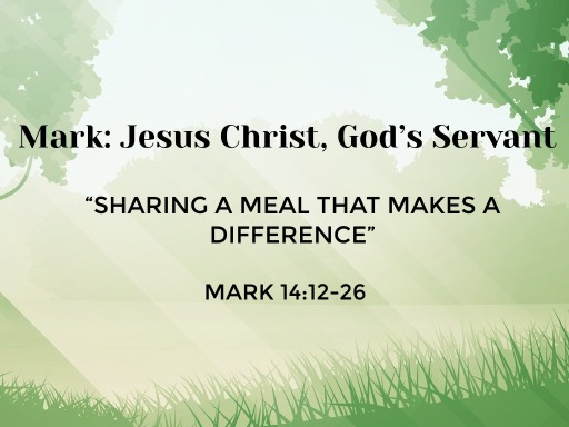 """September 3rd - """"Sharing A Meal That Makes A Difference"""""""