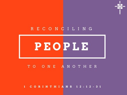 Reconciling People to One Another